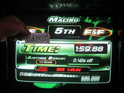 ed1475: The Fast And The Furious: Malibu (Arcade) 0:01:59.88 points on 2018-05-17 23:35:54