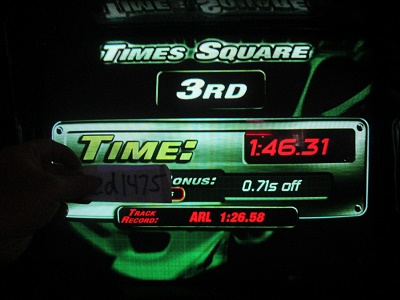 ed1475: The Fast And The Furious: Times Square (Arcade) 0:01:46.31 points on 2018-05-17 23:30:04