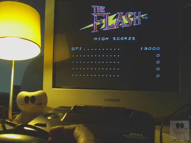 GTibel: The Flash (Sega Master System) 19,000 points on 2019-10-04 01:37:53