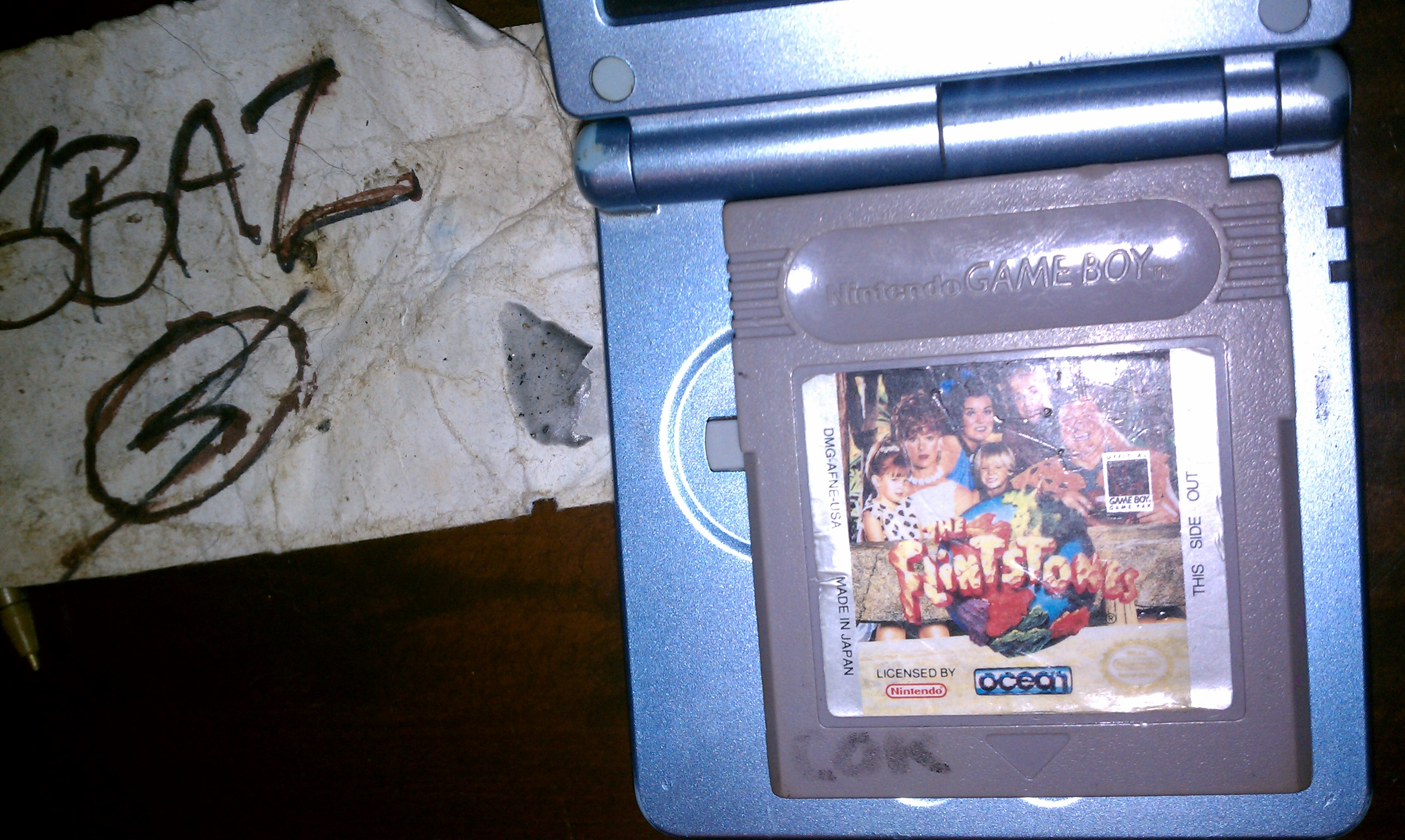 S.BAZ: The Flintstones: The Movie (Game Boy) 600 points on 2020-05-31 15:31:41