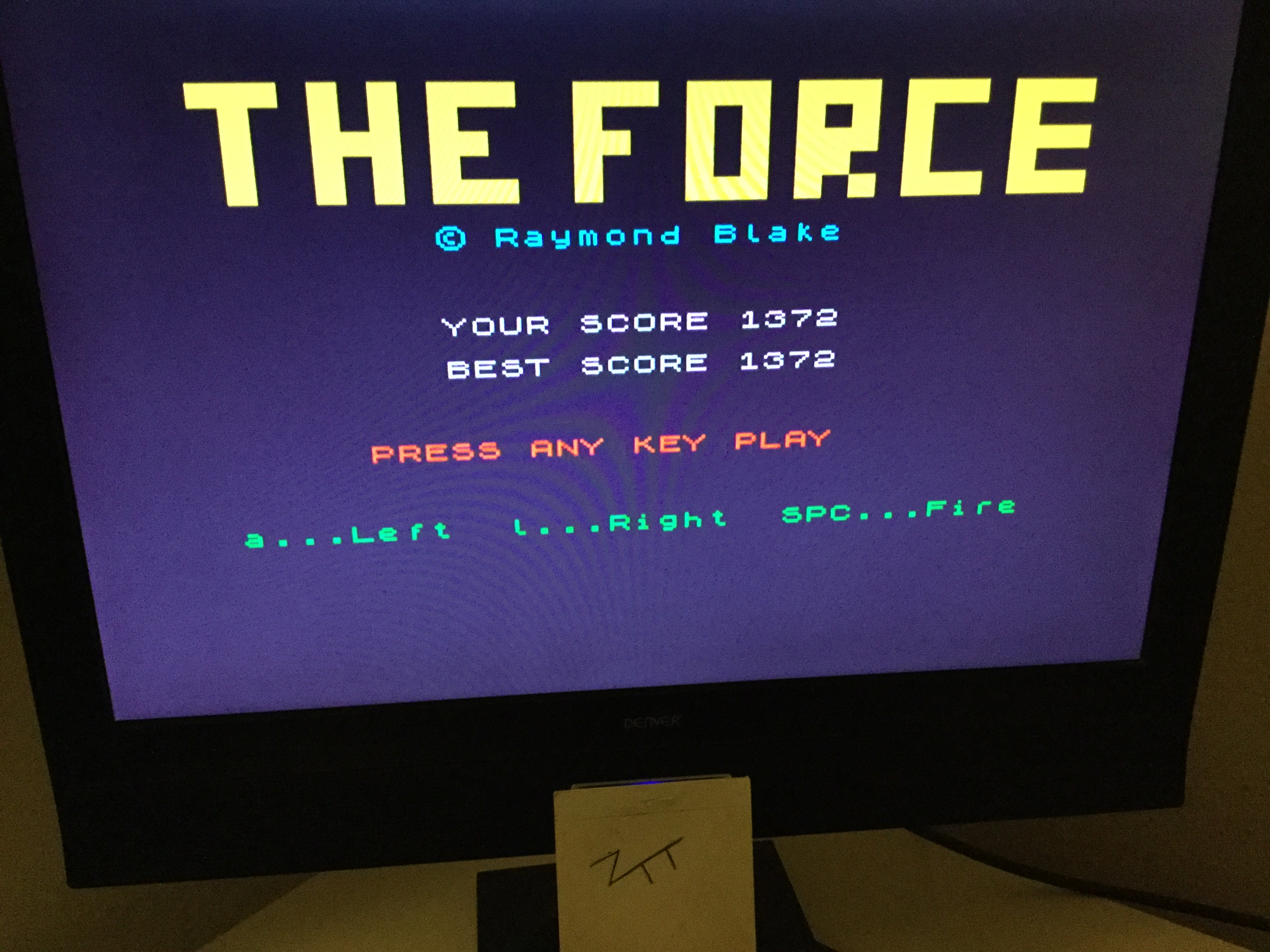 Frankie: The Force [Fontana Publishing] (ZX Spectrum) 1,372 points on 2019-10-12 04:32:14