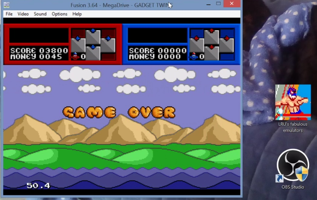 LuigiRuffolo: The Gadget Twins (Sega Genesis / MegaDrive Emulated) 3,800 points on 2020-12-24 16:49:57