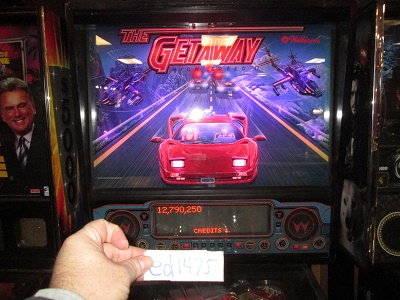 ed1475: The Getaway: High Speed II (Pinball: 3 Balls) 12,790,250 points on 2017-02-05 15:46:32