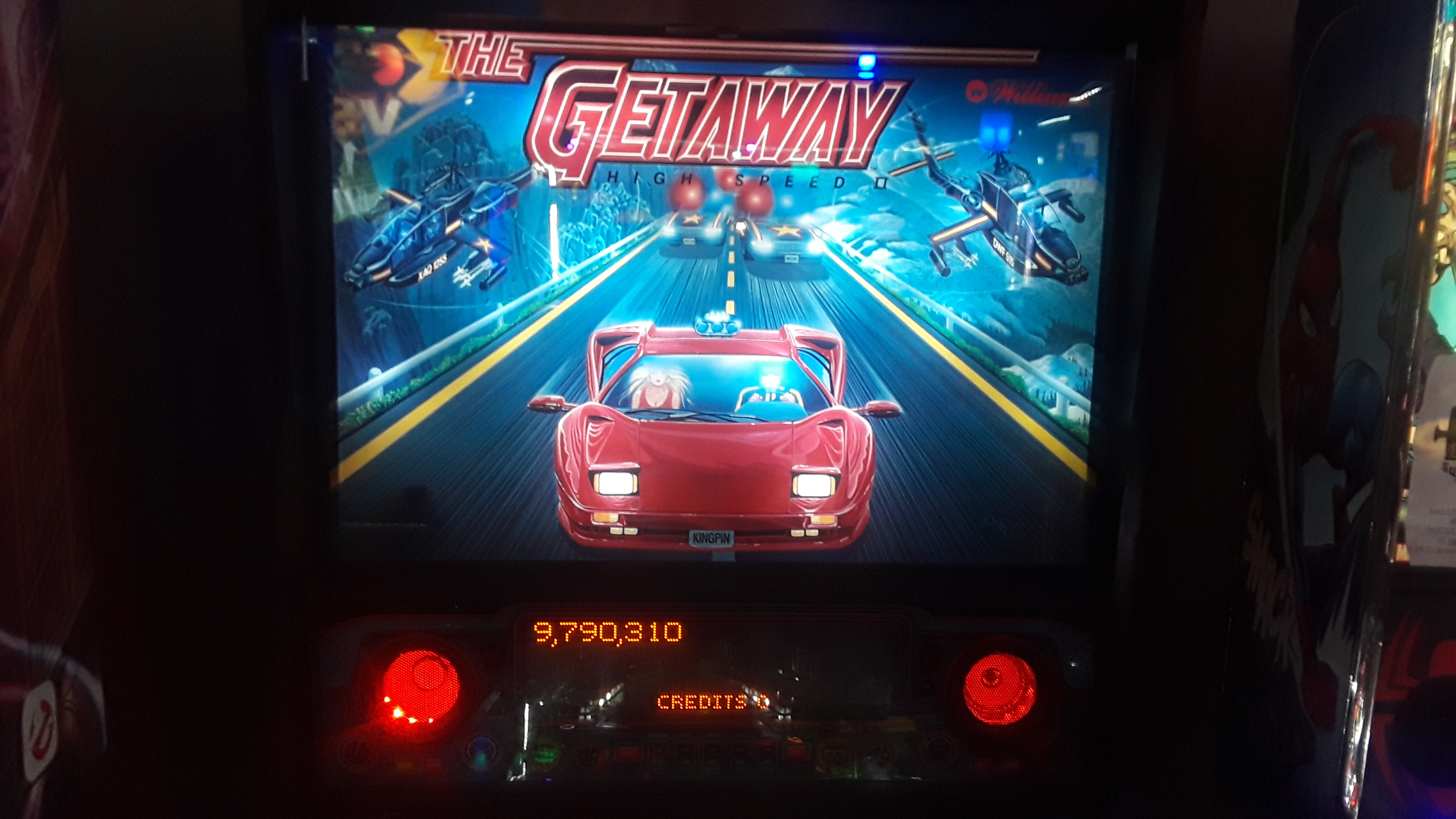 The Getaway: High Speed II 9,790,310 points