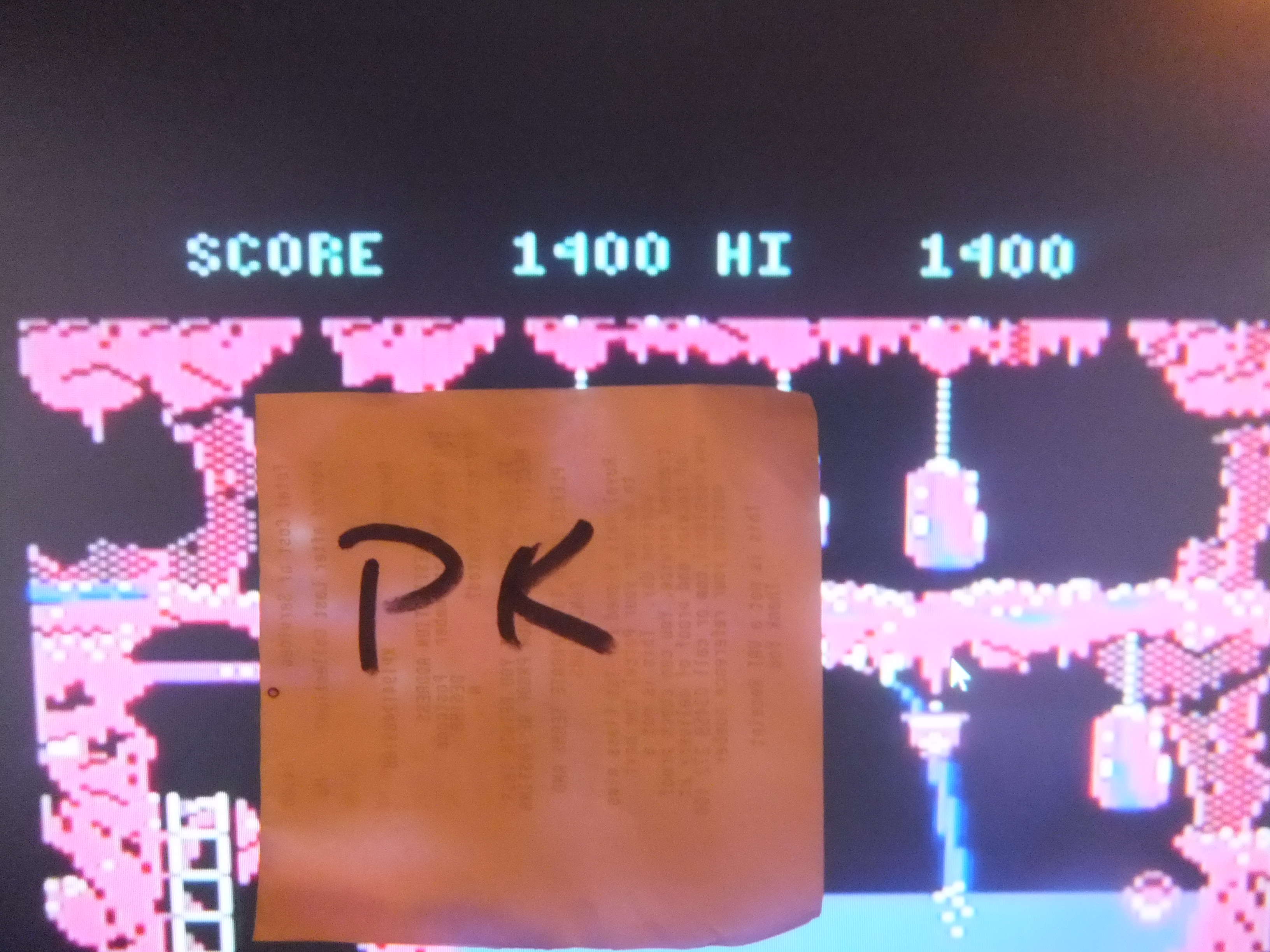 kernzy: The Goonies (Commodore 64 Emulated) 1,400 points on 2015-09-26 17:49:51