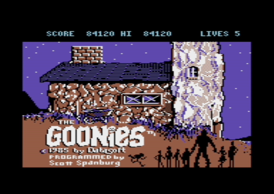 The Goonies 84,120 points