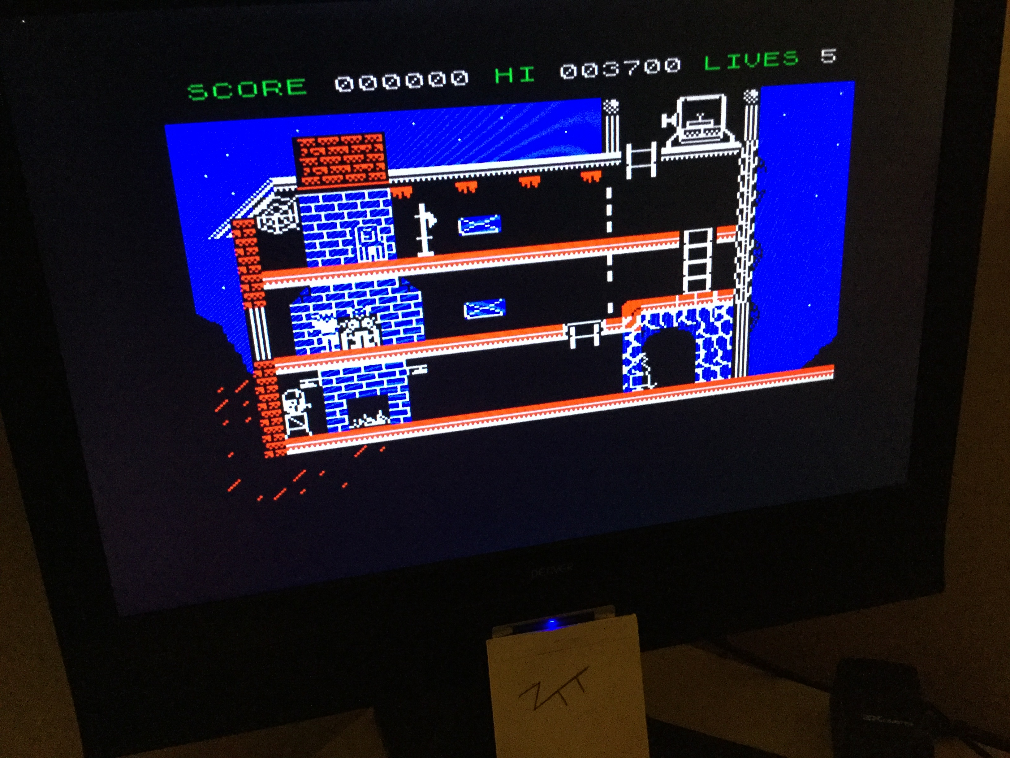 Frankie: The Goonies (ZX Spectrum) 3,700 points on 2020-02-21 02:01:17