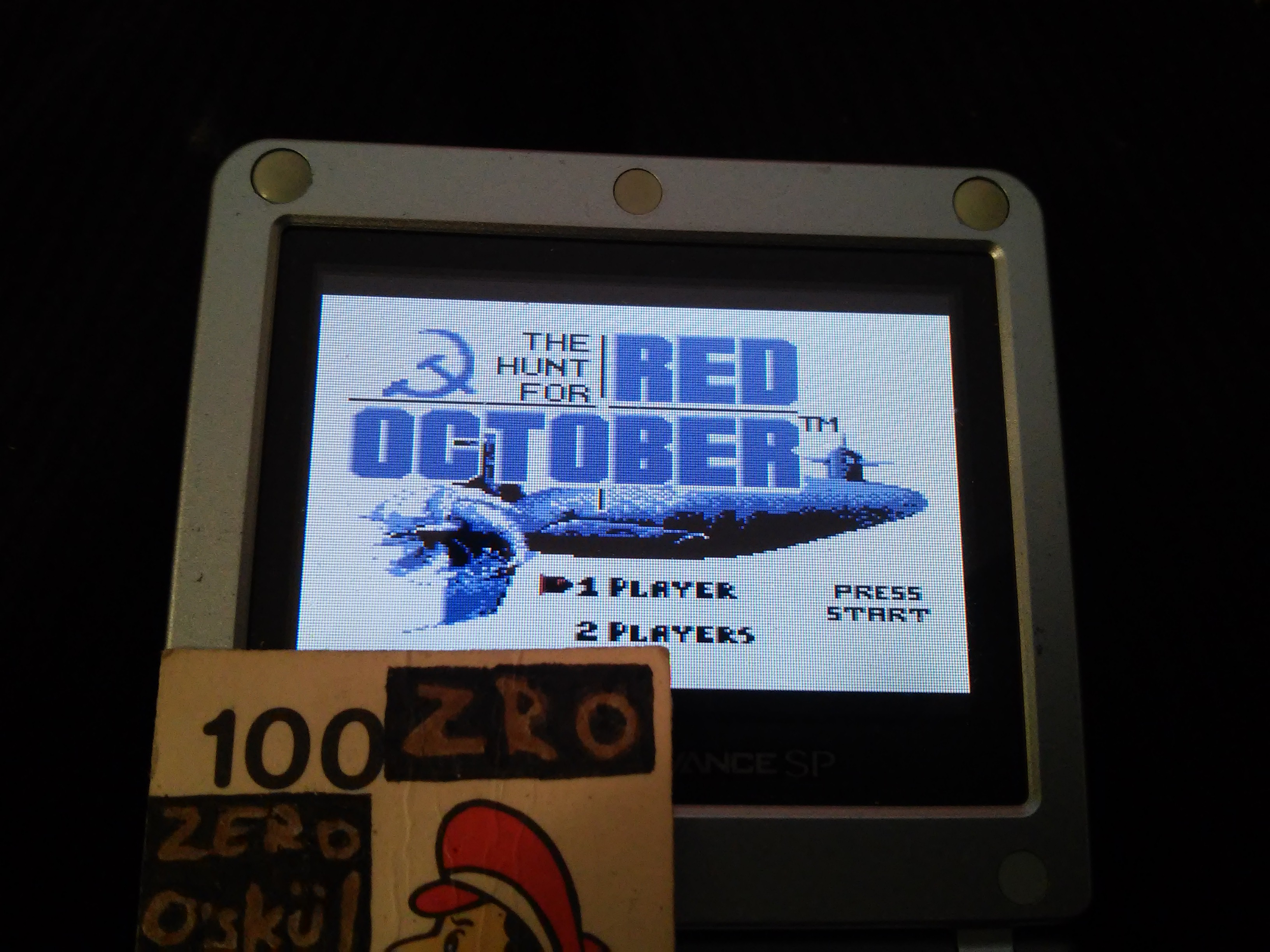 The Hunt For Red October 5,825 points