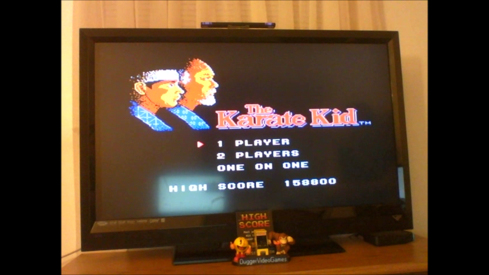 DuggerVideoGames: The Karate Kid (NES/Famicom Emulated) 158,800 points on 2017-03-01 03:34:53