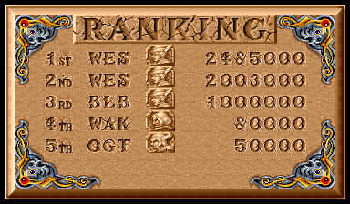 weskerumbrella: The King of Dragons [kod] (Arcade Emulated / M.A.M.E.) 2,485,000 points on 2016-02-23 14:22:39