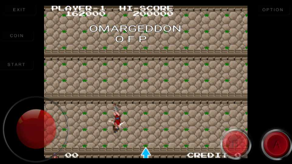 omargeddon: The Legend of Kage (Arcade Emulated / M.A.M.E.) 162,000 points on 2016-09-25 18:11:59