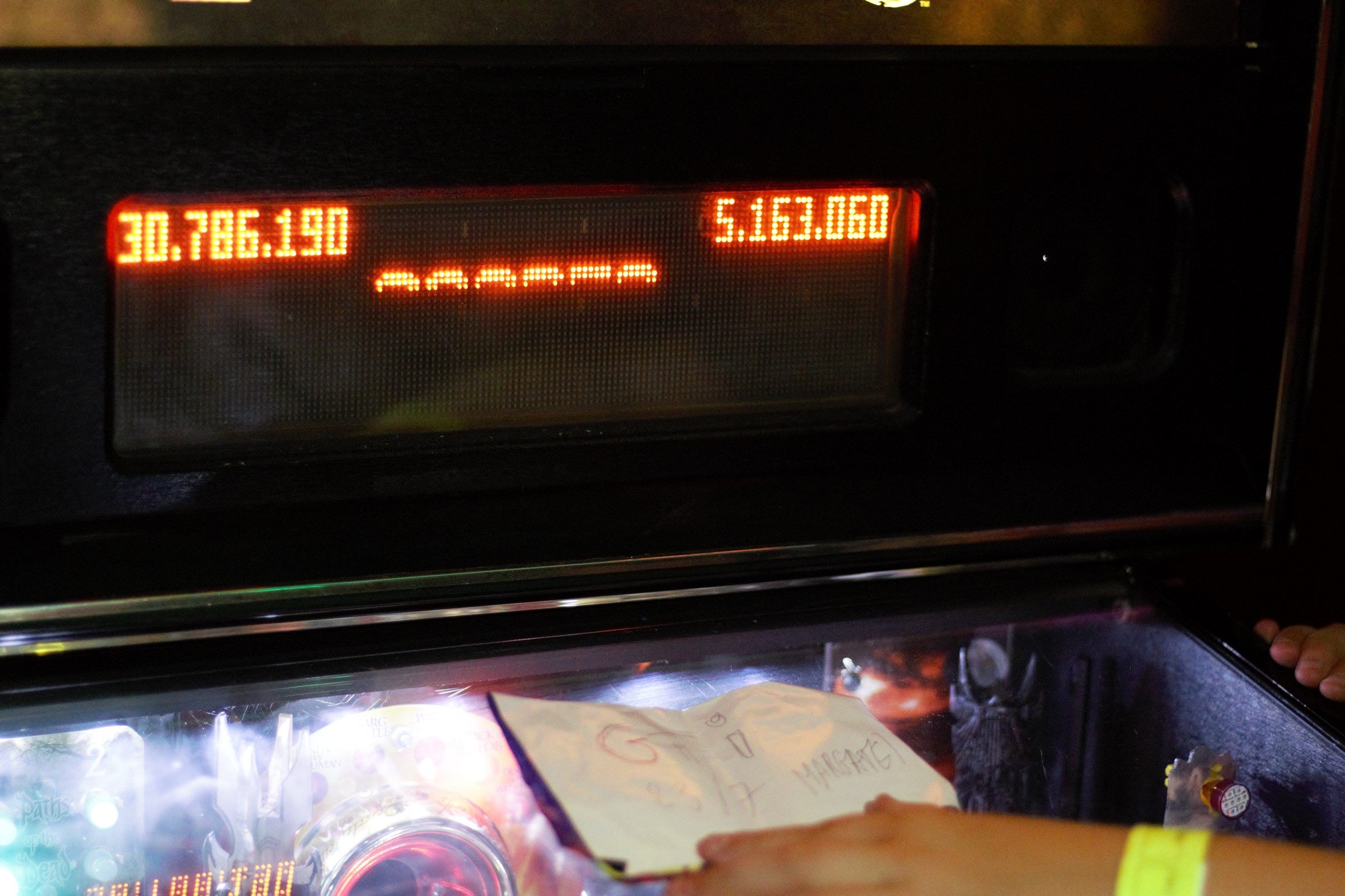 GTibel: The Lord of the Rings (Pinball: 3 Balls) 30,786,190 points on 2016-07-25 16:20:02