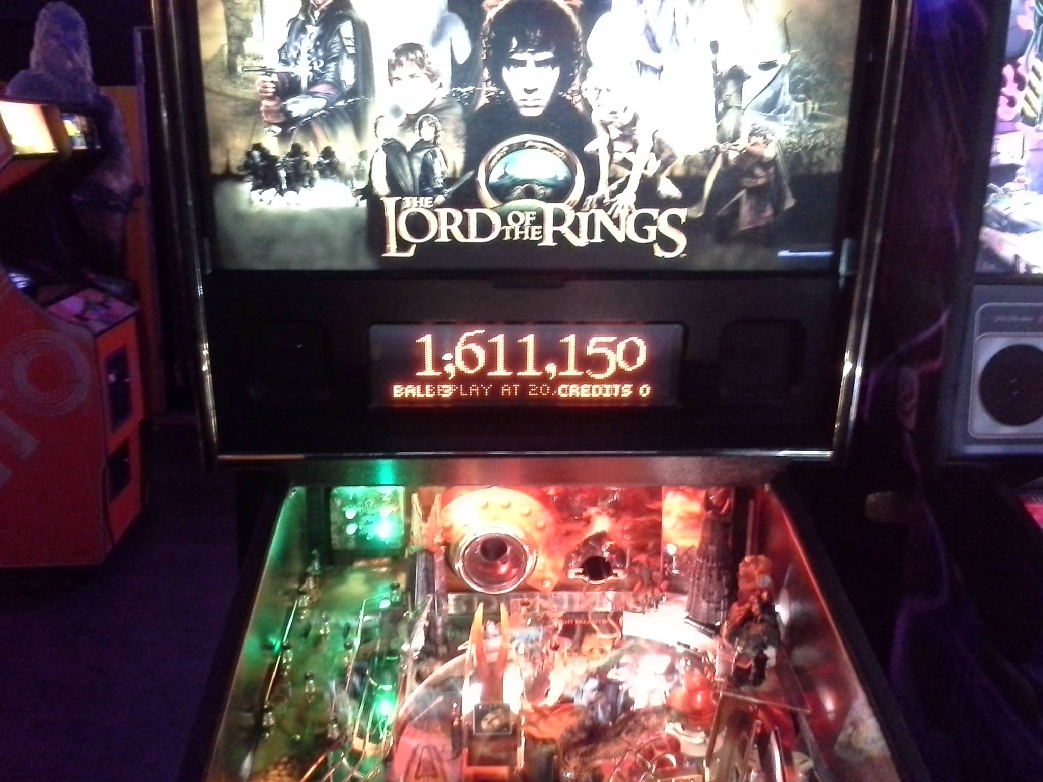 The Lord of the Rings 1,651,150 points