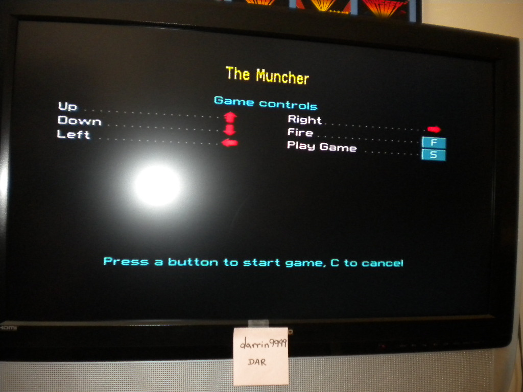 darrin9999: The Muncher [Gremlin Graphics] [100,000 Points Completion Bonus] (ZX Spectrum Emulated) 237 points on 2017-04-28 14:23:48