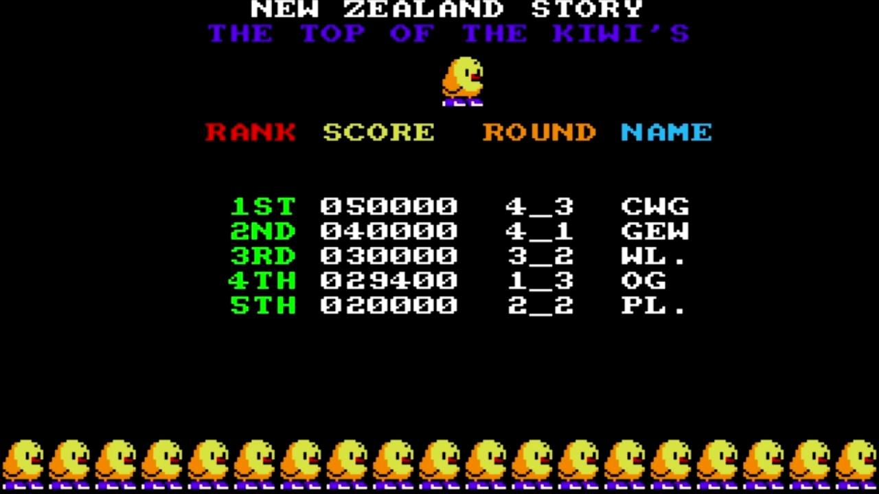 OriginalGamer: The New Zealand Story (Amiga Emulated) 29,400 points on 2015-07-16 18:31:42