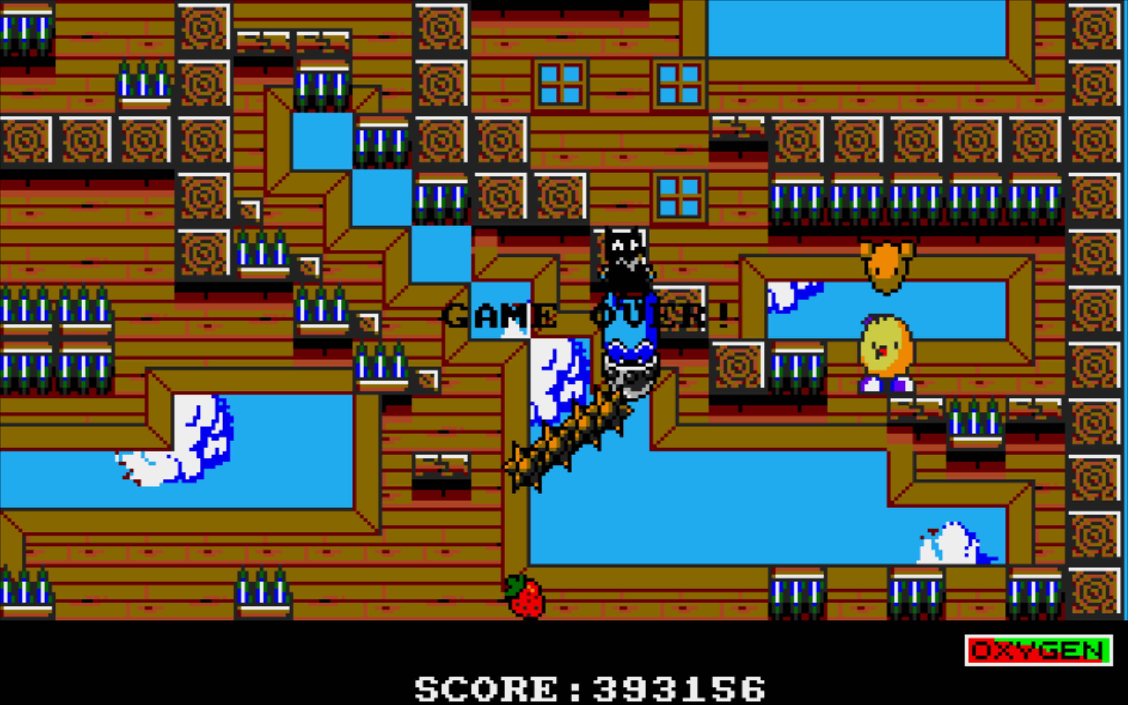 HoraceAndTheSpider: The New Zealand Story (Amiga Emulated) 393,156 points on 2015-08-23 15:30:57