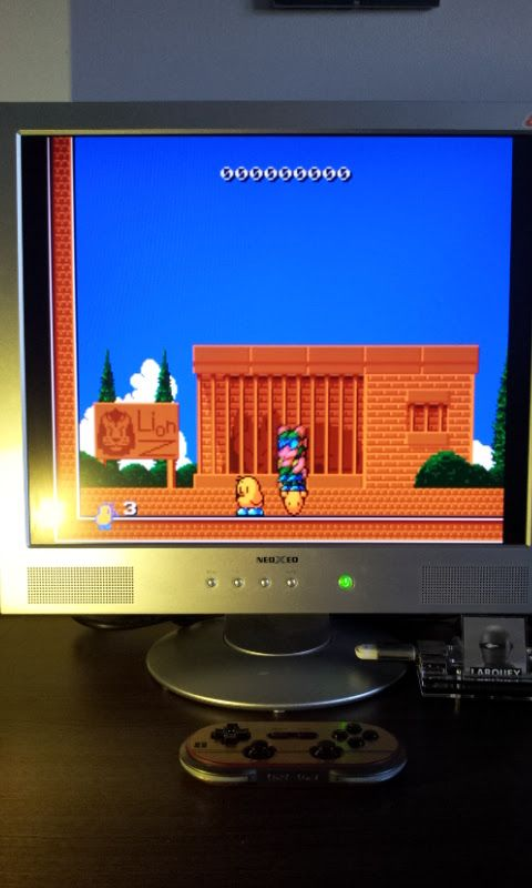 Larquey: The New Zealand Story (Sega Genesis / MegaDrive Emulated) 23,980 points on 2017-03-12 07:30:20