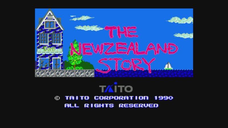 Larquey: The New Zealand Story (TurboGrafx-16/PC Engine Emulated) 90,060 points on 2017-03-11 13:20:35