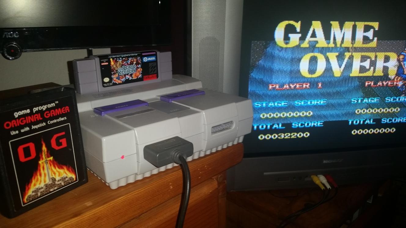 OriginalGamer: The Peace Keepers (SNES/Super Famicom) 32,200 points on 2016-06-28 17:49:37