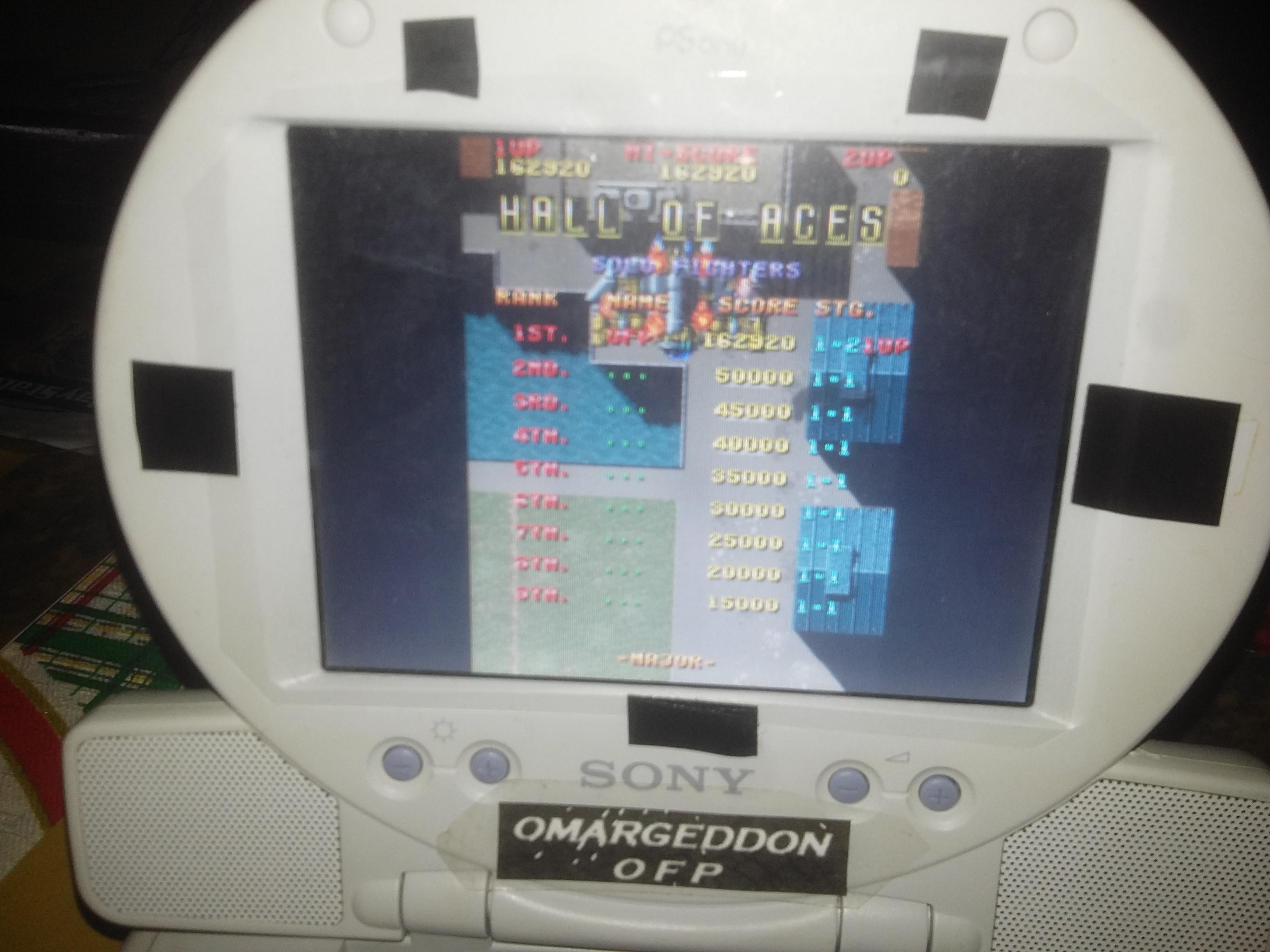 omargeddon: The Raiden Project: Raiden [Major] (Playstation 1) 162,920 points on 2016-12-03 16:02:11