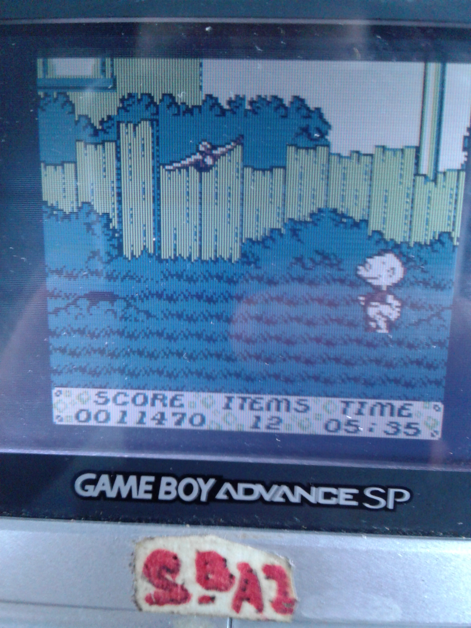 S.BAZ: The Rugrats Movie (Game Boy) 11,470 points on 2019-10-30 22:14:40