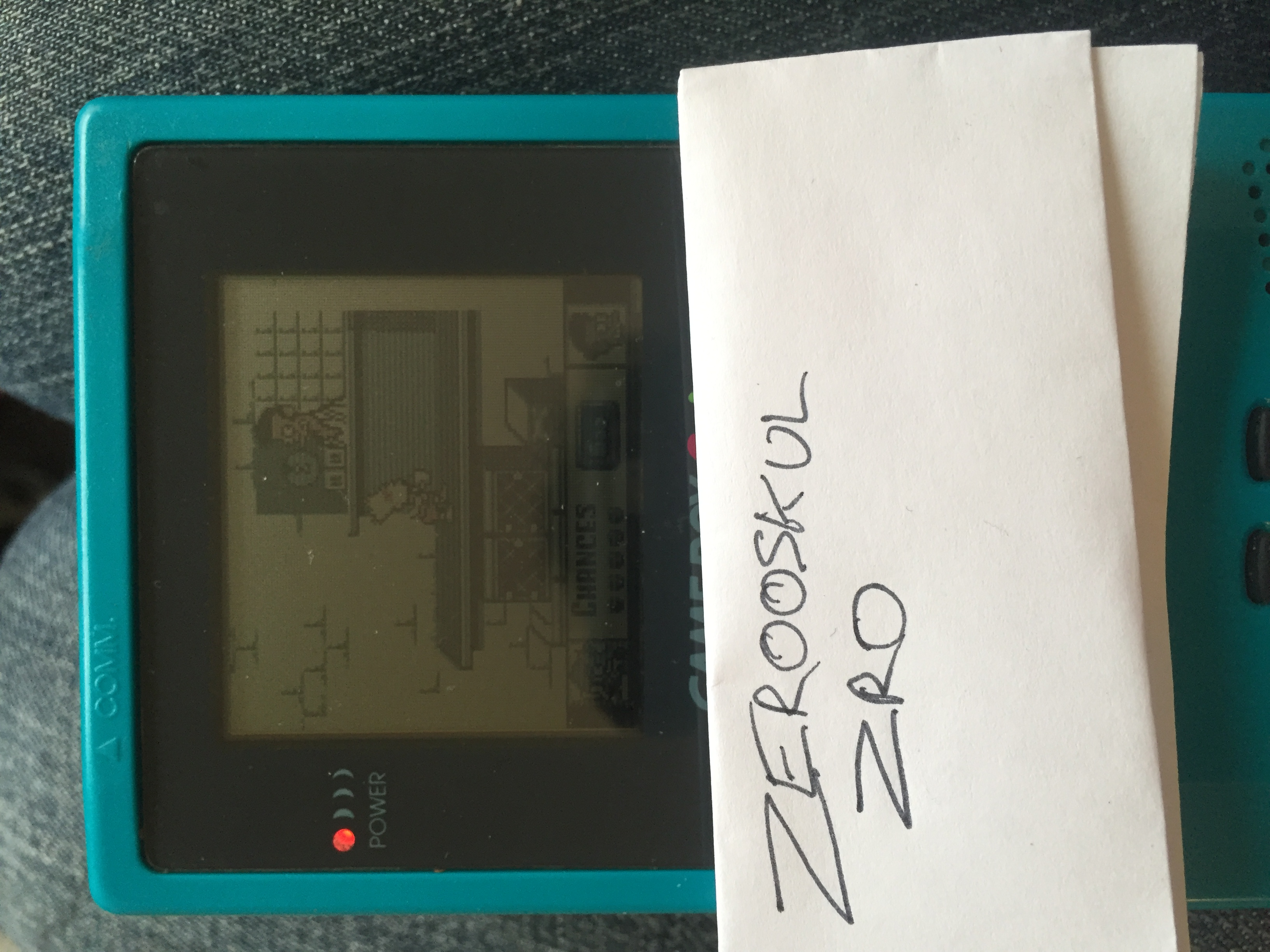 zerooskul: The Simpsons: Bart vs. The Juggernauts (Game Boy) 106,910 points on 2018-05-16 13:22:58