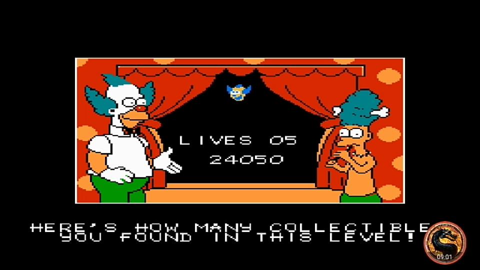 omargeddon: The Simpsons: Bart vs. The World (NES/Famicom Emulated) 24,050 points on 2019-01-14 17:50:31