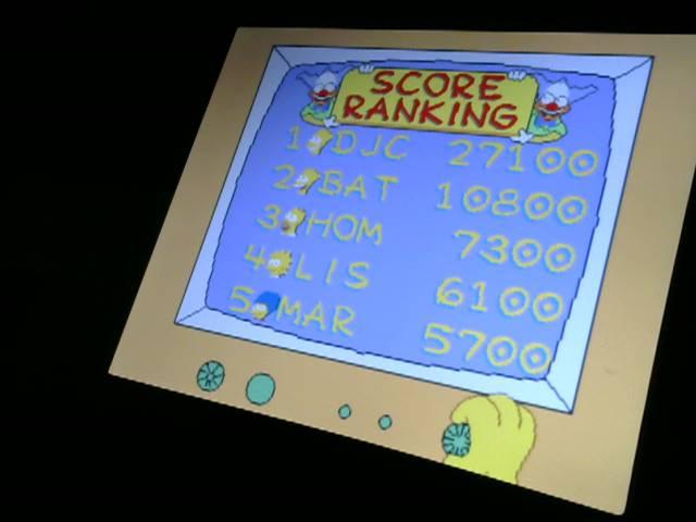 derek: The Simpsons (Jamma Pandora