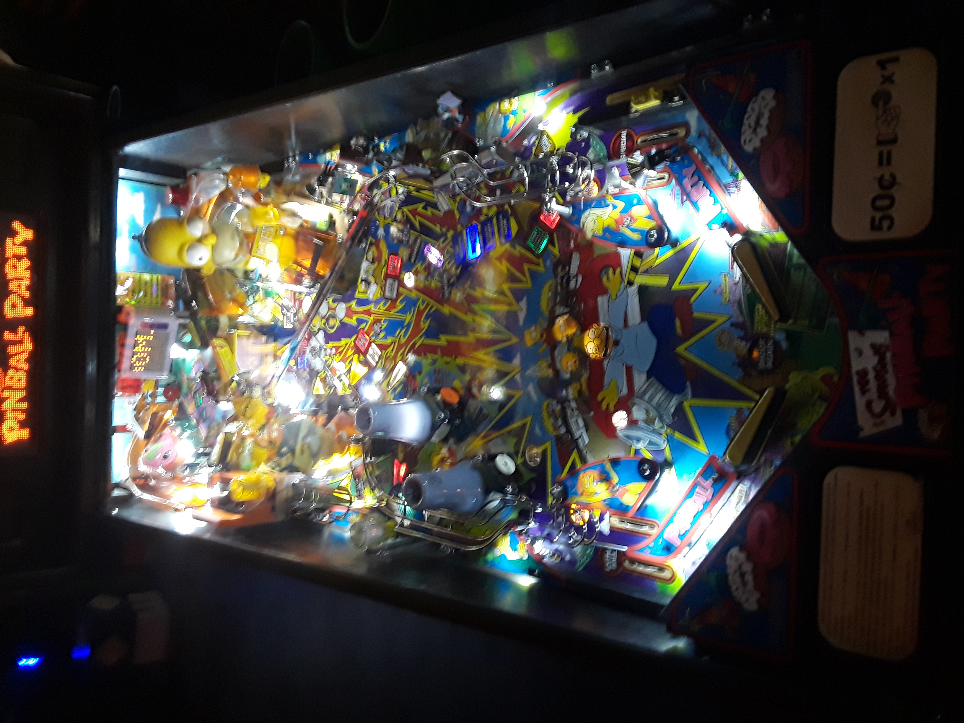 The Simpsons Pinball Party 2,795,140 points