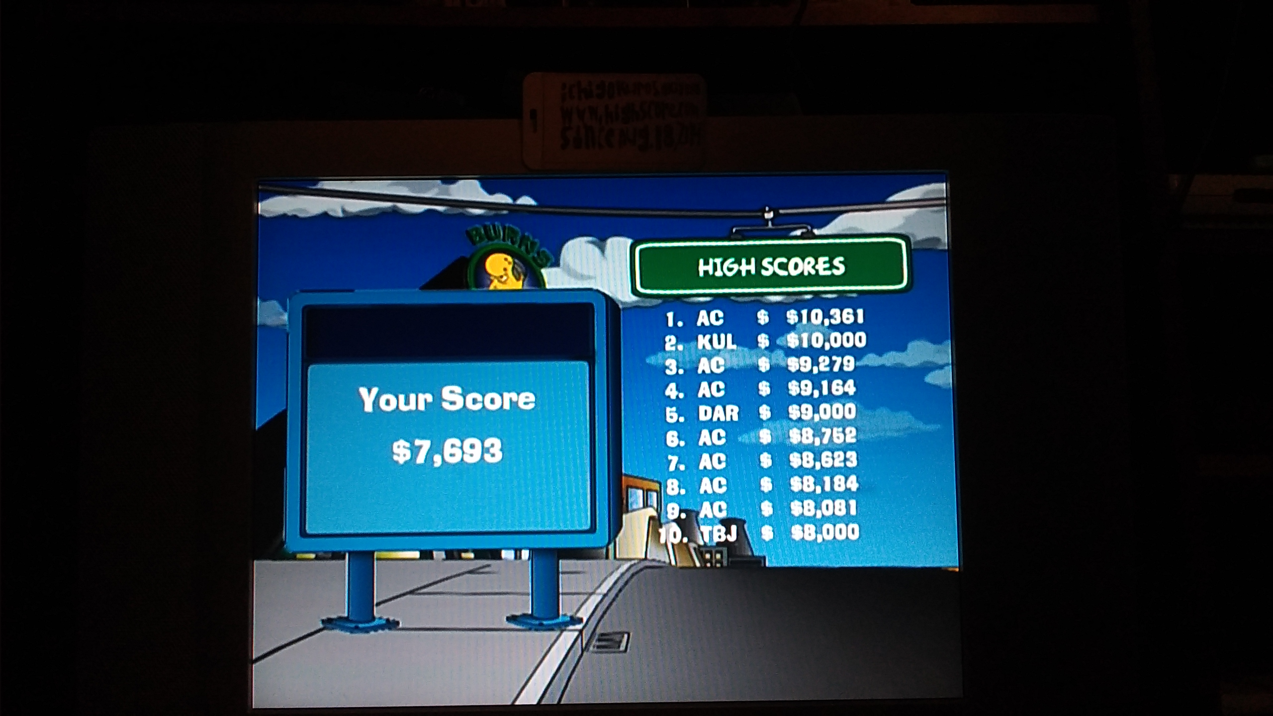 ichigokurosaki1991: The Simpsons Road Rage: Downtown [Normal] (Xbox) 7,693 points on 2016-11-29 21:58:46