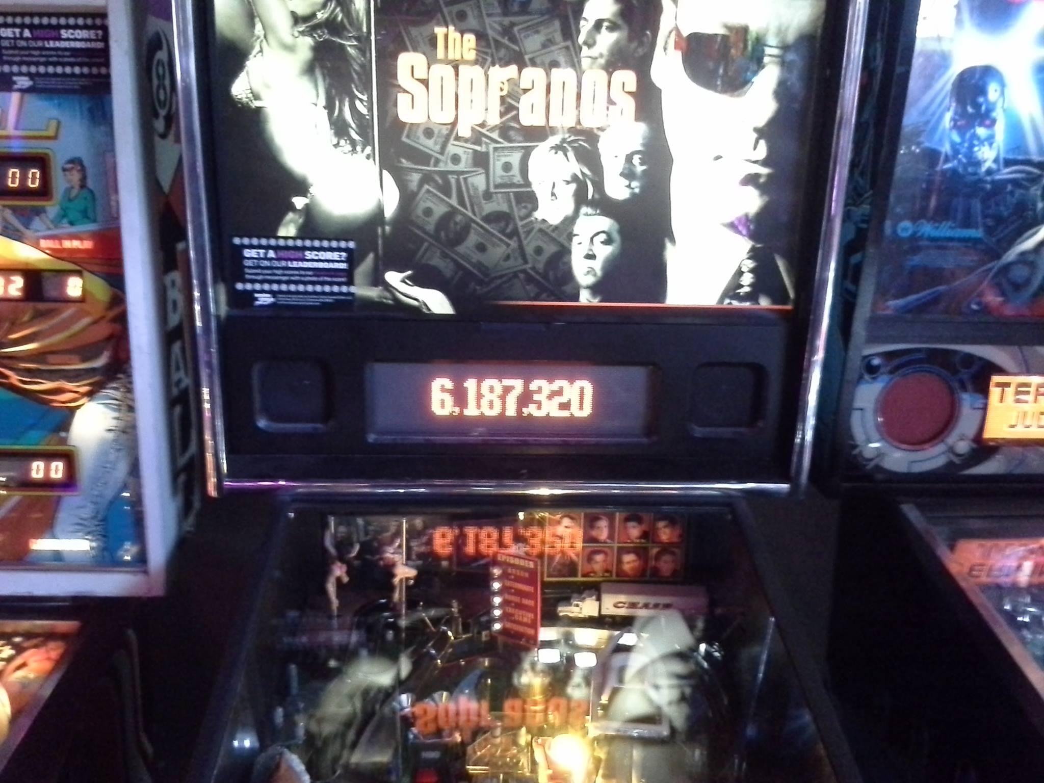 The Sopranos 6,187,320 points