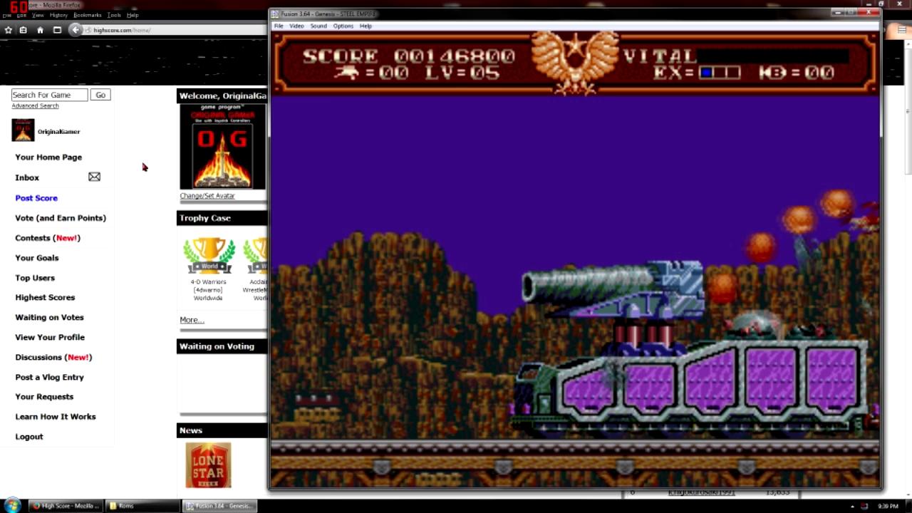 OriginalGamer: The Steel Empire [Normal] (Sega Genesis / MegaDrive Emulated) 146,800 points on 2015-10-03 18:45:21