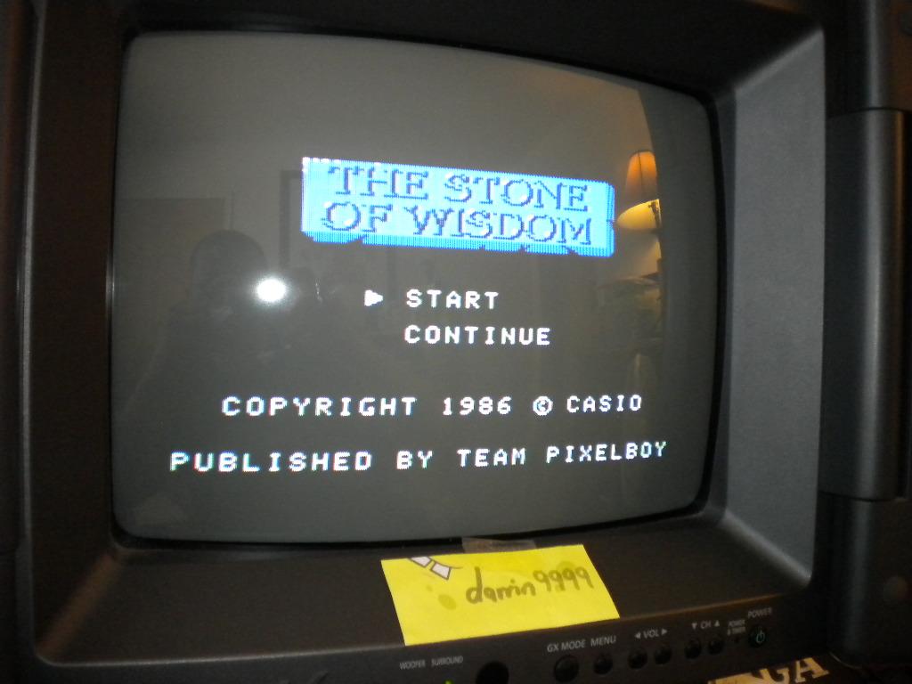 The Stone Of Wisdom 6,380 points