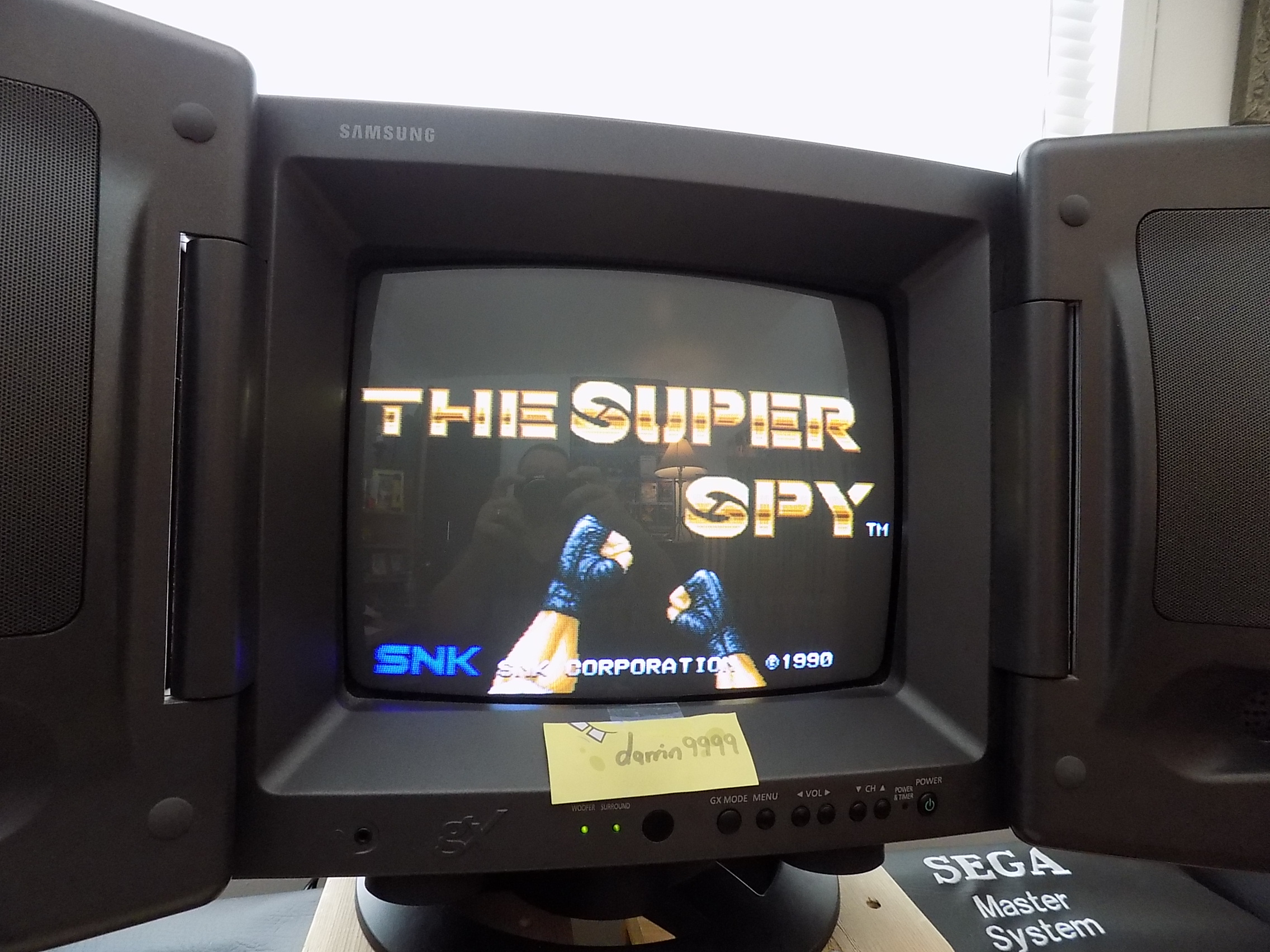 darrin9999: The Super Spy (Neo Geo) 4,700 points on 2018-02-28 18:10:00