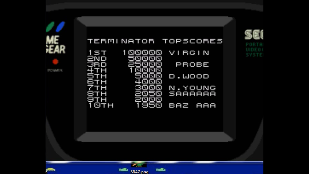 S.BAZ: The Terminator (Sega Game Gear Emulated) 2,050 points on 2020-03-29 04:10:45