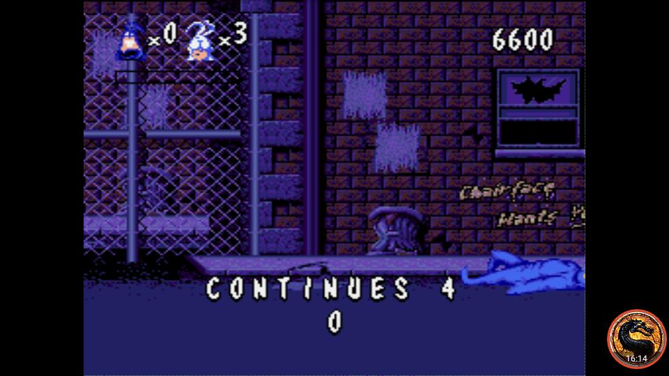 omargeddon: The Tick (Sega Genesis / MegaDrive Emulated) 6,600 points on 2019-05-28 21:04:33