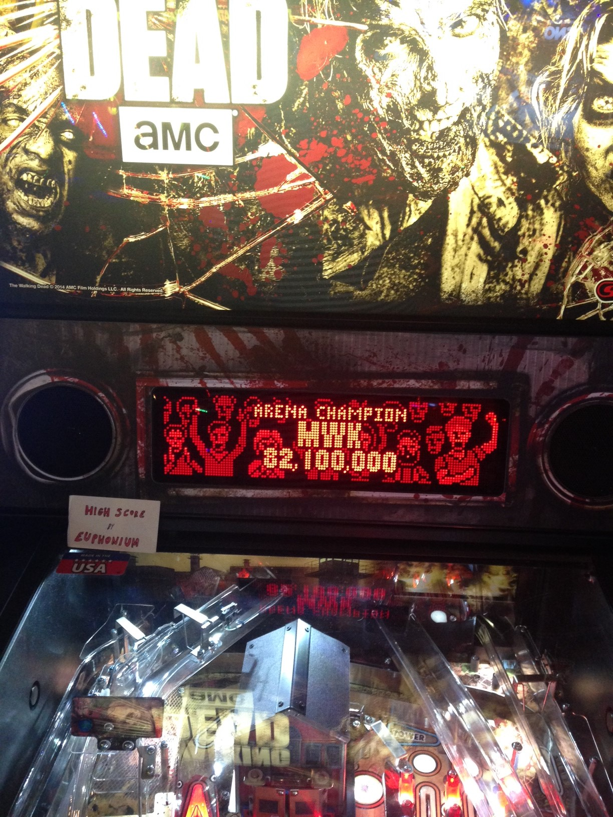 The Walking Dead: Arena Champion 82,100,000 points