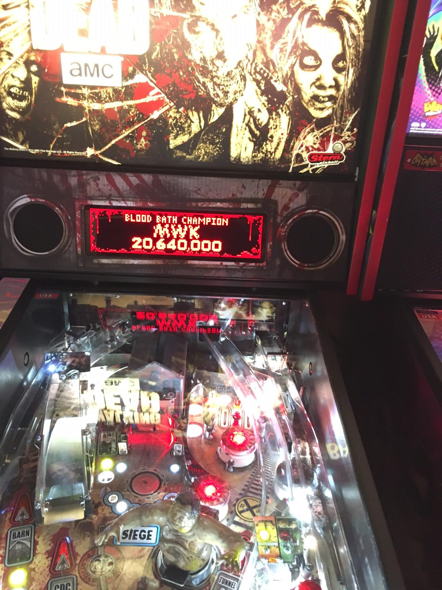 euphonium: The Walking Dead: Blood Bath Champion (Pinball Bonus Mode) 20,640,000 points on 2018-02-14 00:14:41