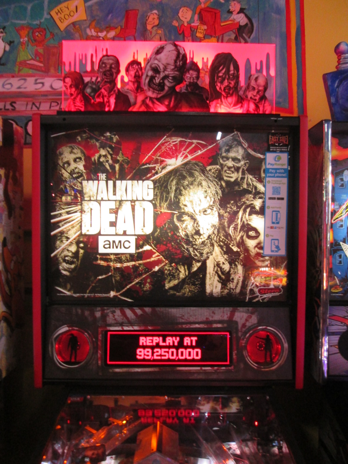 ed1475: The Walking Dead (Pinball: 3 Balls) 6,423,960 points on 2016-08-25 19:13:50