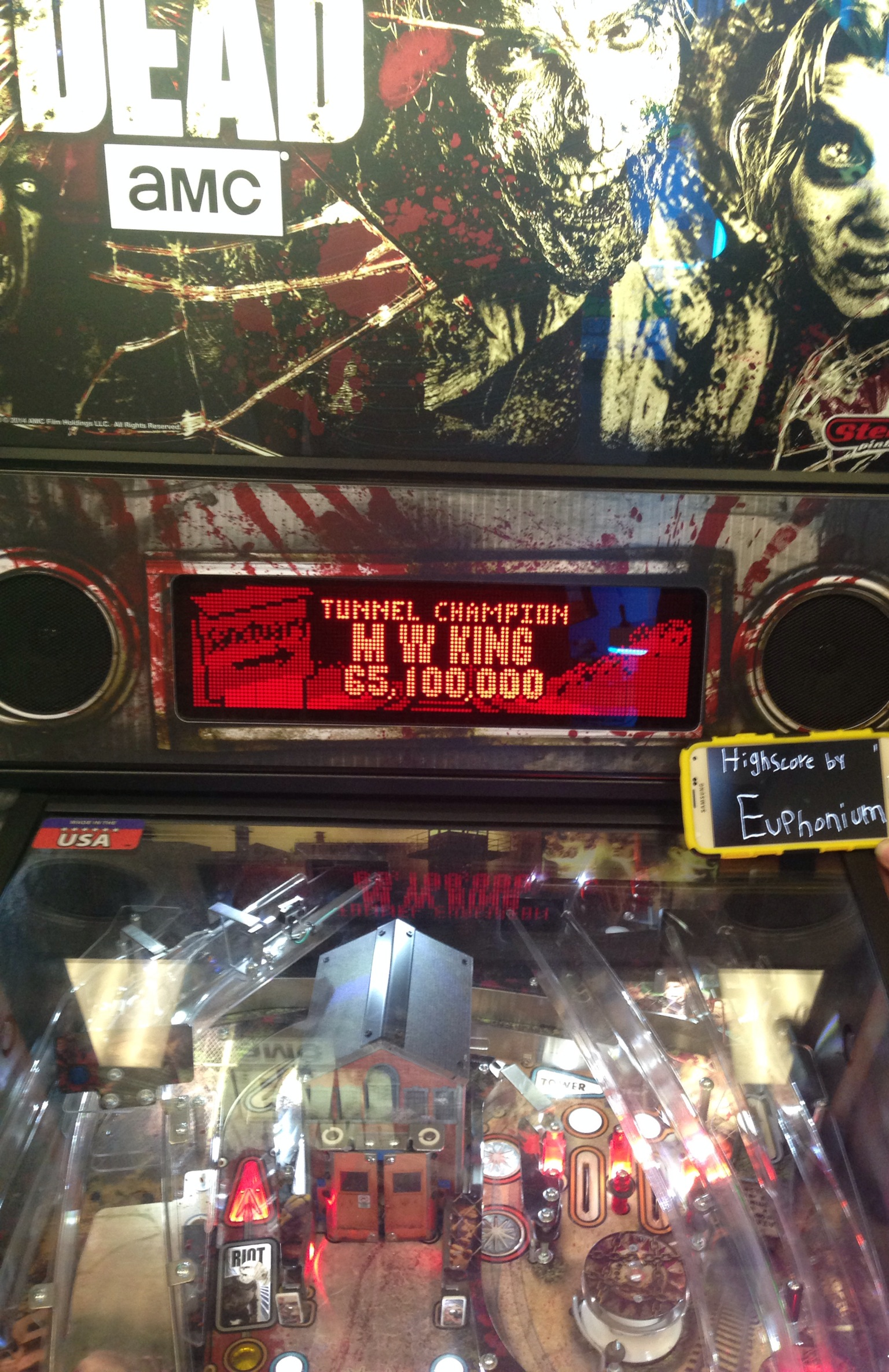The Walking Dead: Tunnel Champion 65,100,000 points
