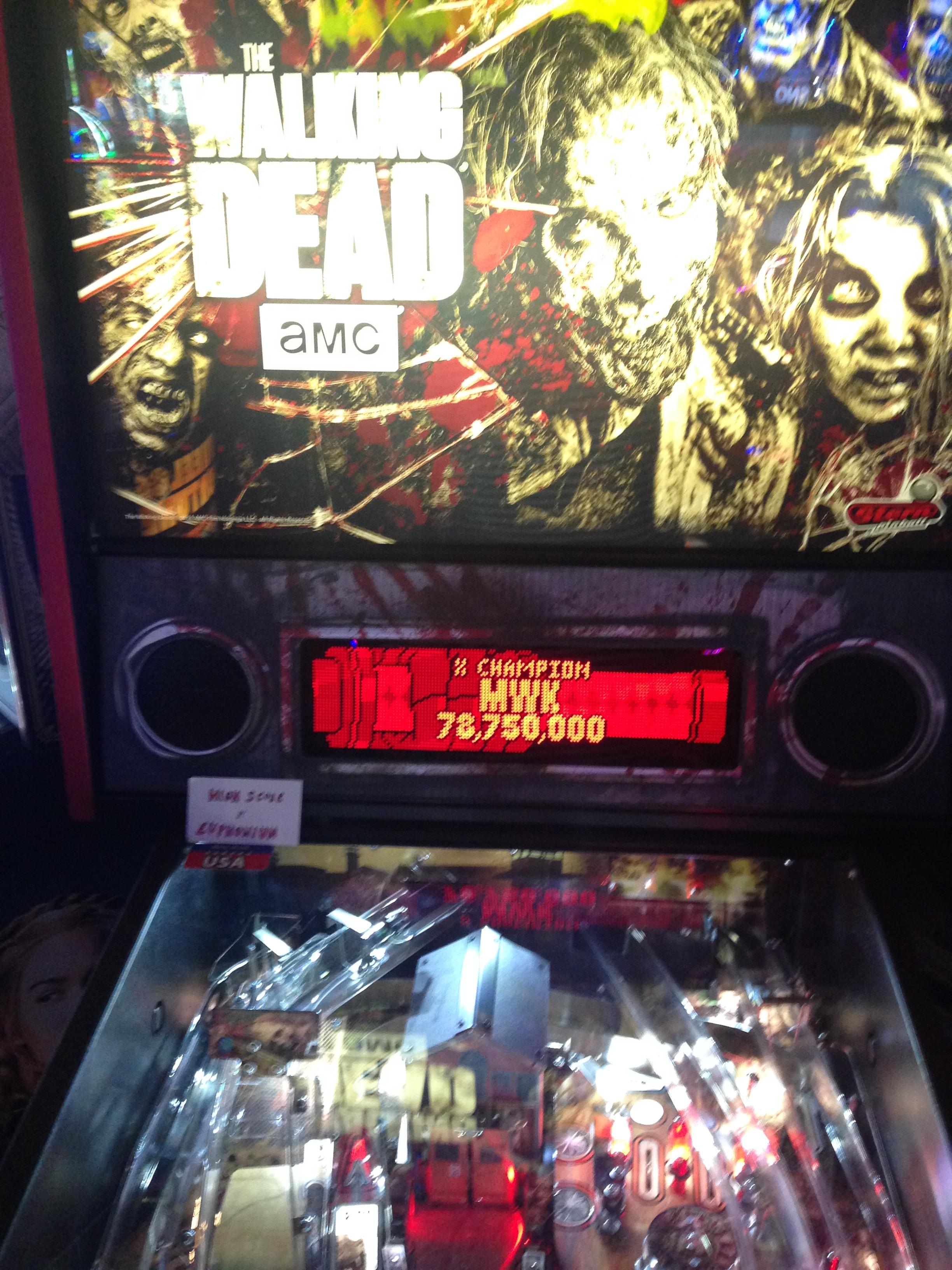 euphonium: The Walking Dead: X Champion (Pinball Bonus Mode) 78,750,000 points on 2017-02-22 23:56:45