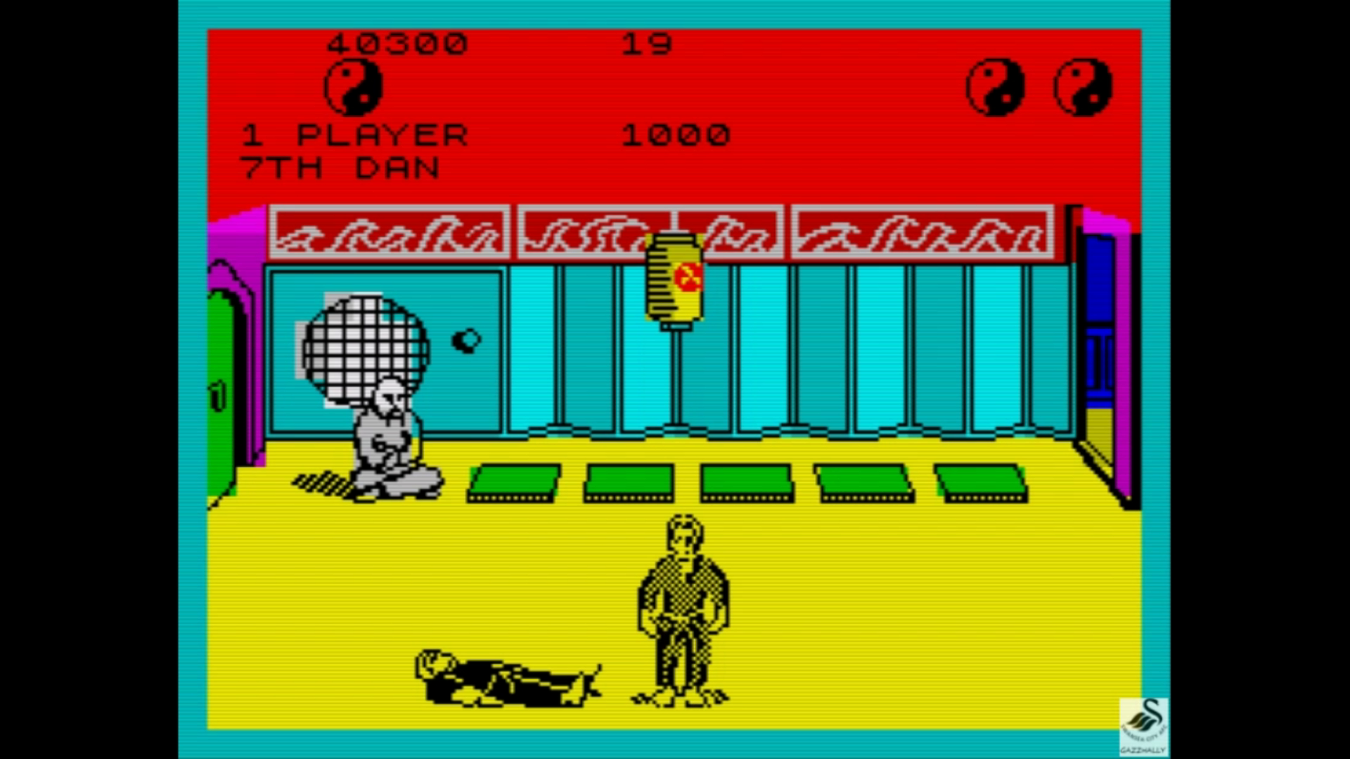 gazzhally: The Way of the Exploding Fist (ZX Spectrum Emulated) 40,300 points on 2019-07-19 14:42:49