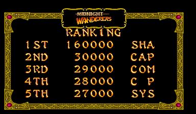 Shahbaz: Three Wonders: Midnight Wanderers [3wonders] (Arcade Emulated / M.A.M.E.) 160,000 points on 2016-07-02 04:53:19