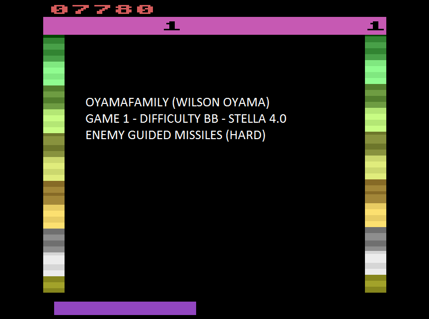 oyamafamily: Threshold (Atari 2600 Emulated Novice/B Mode) 7,780 points on 2015-07-24 21:05:25