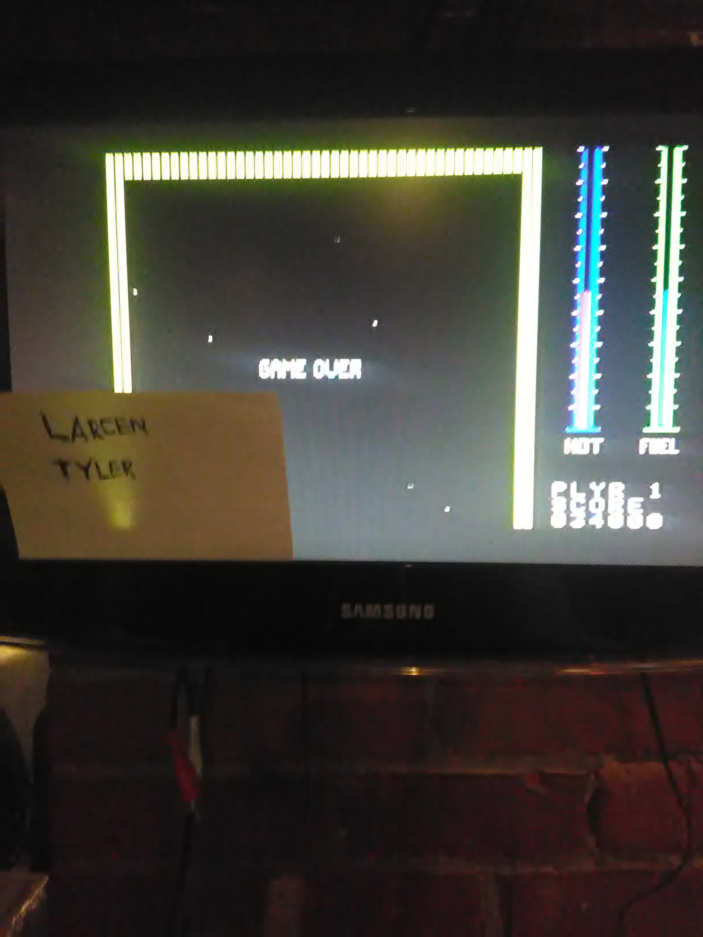 LarcenTyler: Threshold (Colecovision Flashback) 34,000 points on 2016-07-11 10:57:50