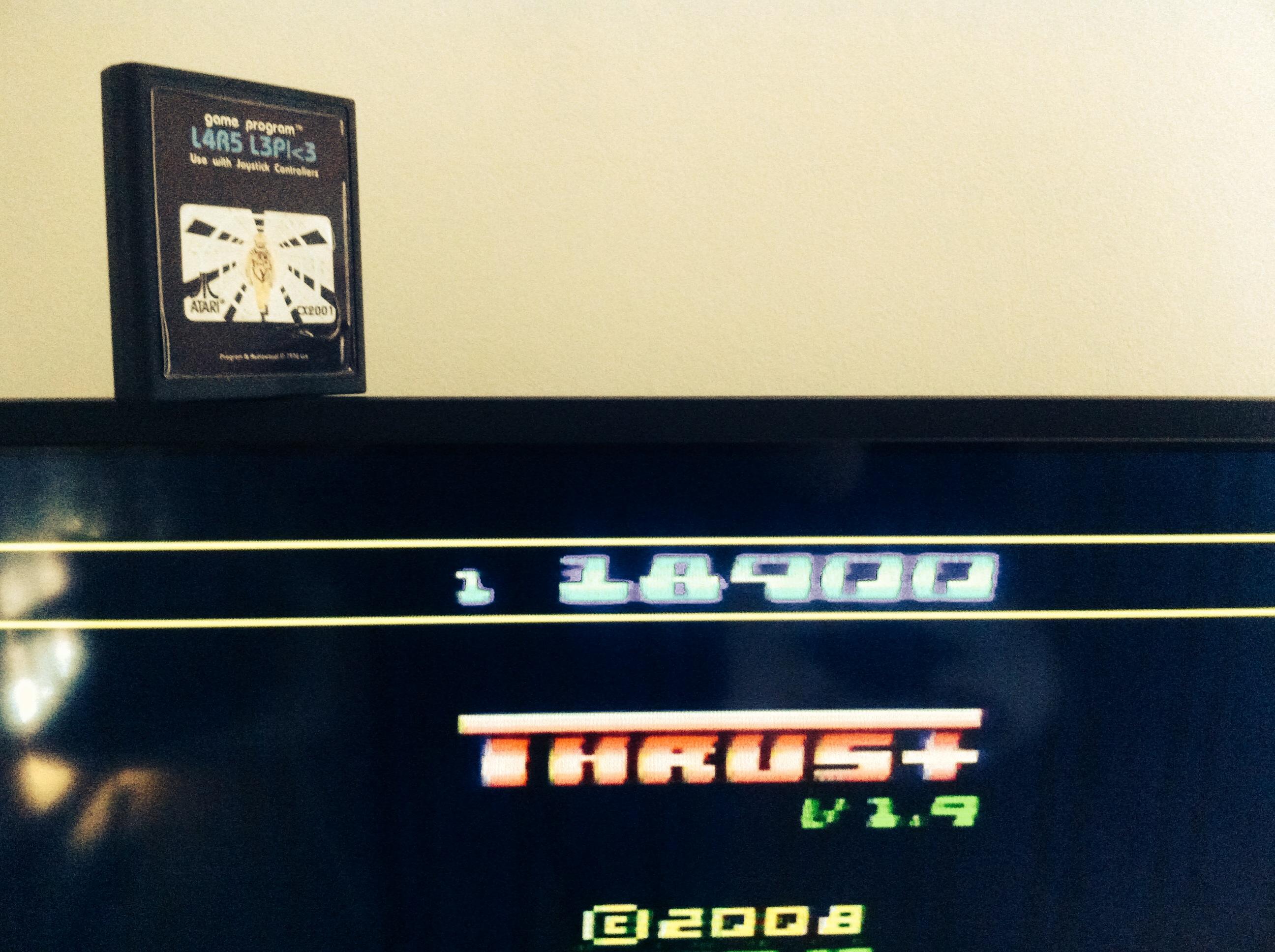 Thrust+ Platinum 18,900 points