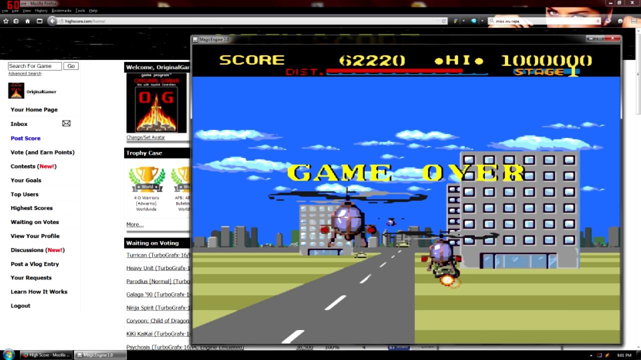 OriginalGamer: Thunder Blade (TurboGrafx-16/PC Engine Emulated) 62,220 points on 2015-08-21 16:46:00
