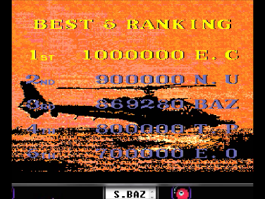 S.BAZ: Thunder Blade (TurboGrafx-16/PC Engine Emulated) 869,280 points on 2016-07-19 00:45:16