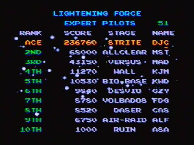 derek: Thunder Force IV [Normal] (Sega Genesis / MegaDrive) 236,760 points on 2016-12-23 17:08:01