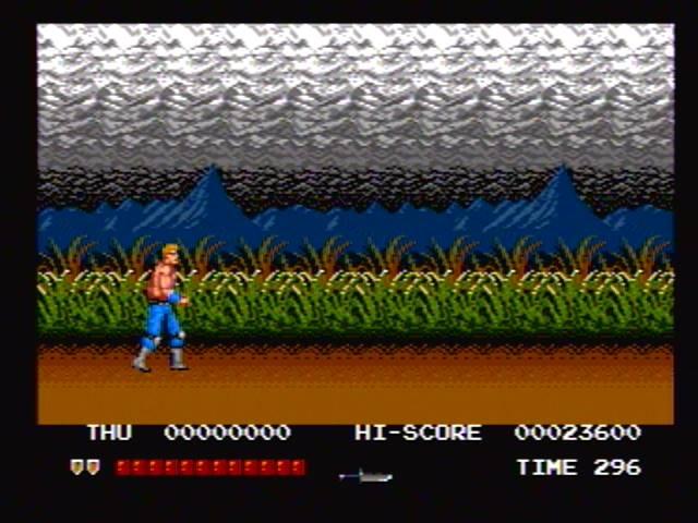derek: Thunder Fox[time select:normal/level select: normal] (Sega Genesis / MegaDrive) 23,600 points on 2016-03-19 19:33:04